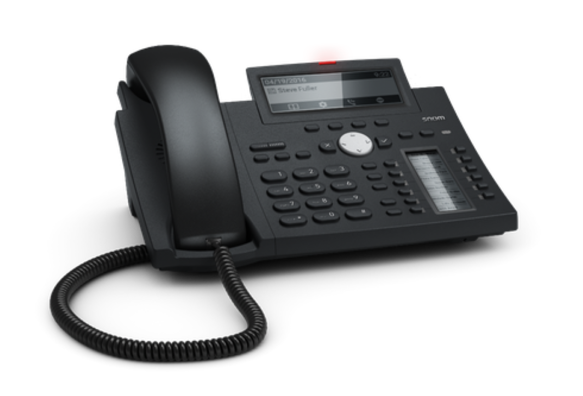 voip telefoon snom d345 kwaliteit