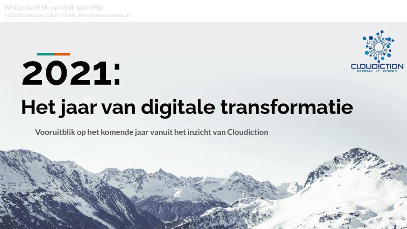 2021 het jaar van digitale transformatie